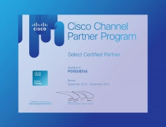 Cisco Certified Partner 2014